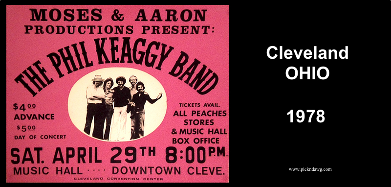 Phil Keaggy Band Poster 1978
