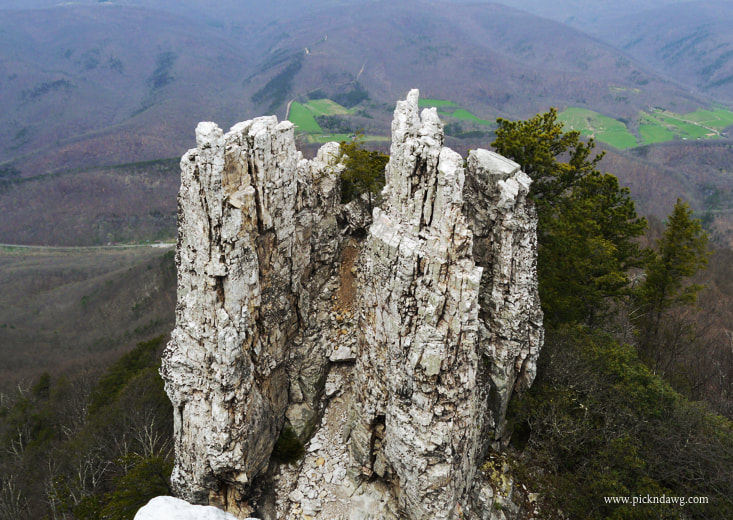 Chimney Rock North Fork Mountain WV