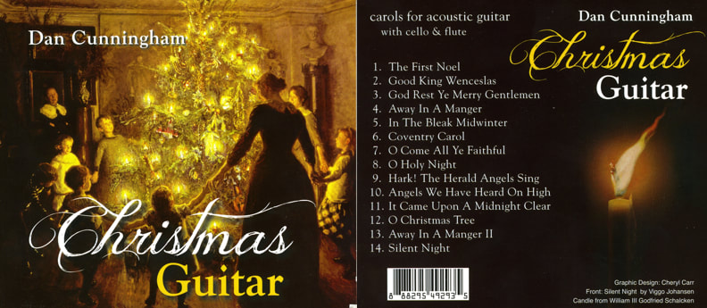 Christmas Guitar carols Dan Cunningham