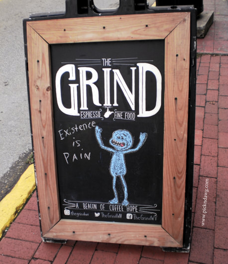 Existence Is Pain sign pickndawg