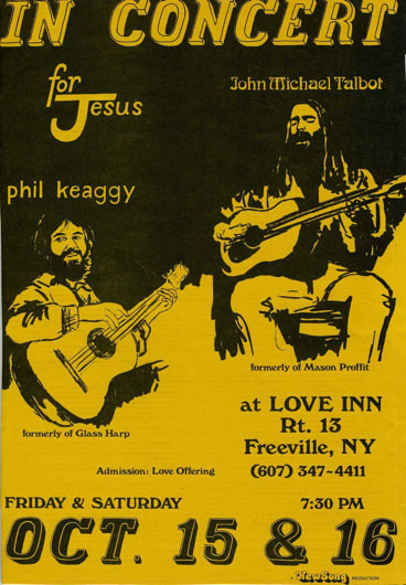 Love Inn Concert 1976 Phil Keaggy John Talbot