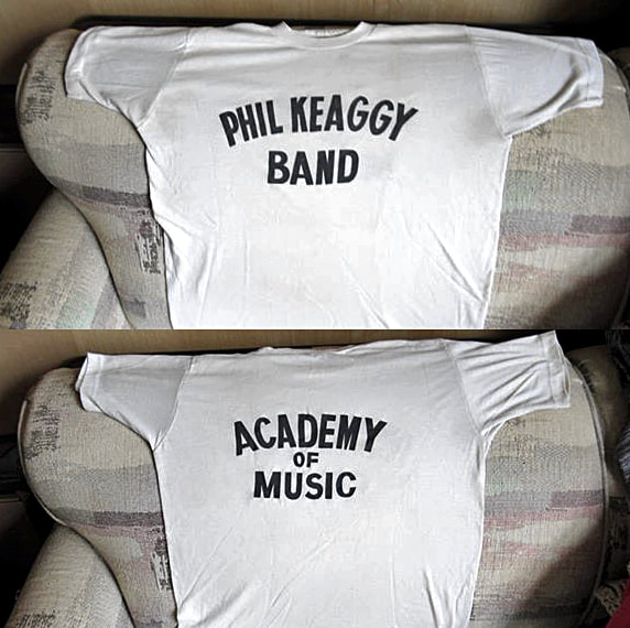 Phil Keaggy Band T Shirt Academy Of Music Philadelphia